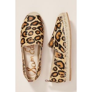 Sam Edelman Khloe Espadrille Leopard Print Size 6